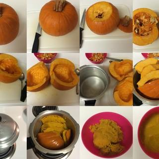 Picture of Steps to Prepare Pumpkin Puree