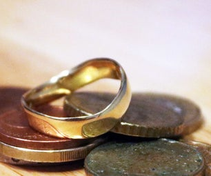 How to Make Coin Ring From 50 Cent Coin
