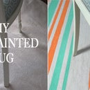 DIY: Painted Rug