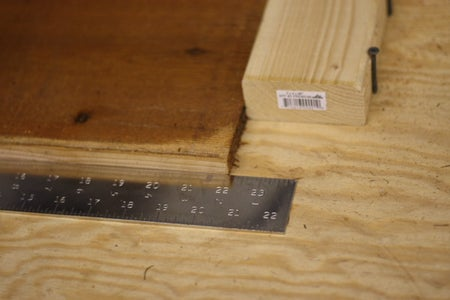 Cutting the Lumber to Size