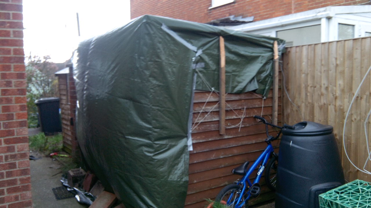 Picture of Re-Felt Your Shed Roof