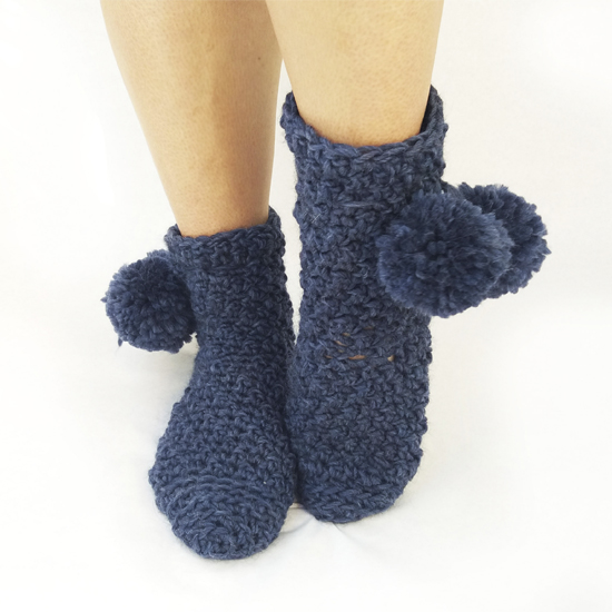 Picture of Crochet Slippers