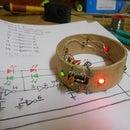 LED Bangle using CD4049