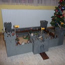 Modular wooden Knights castle