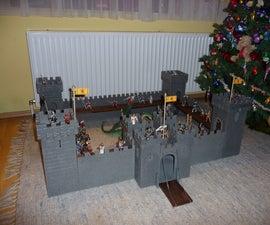 Modular wooden Knights castle