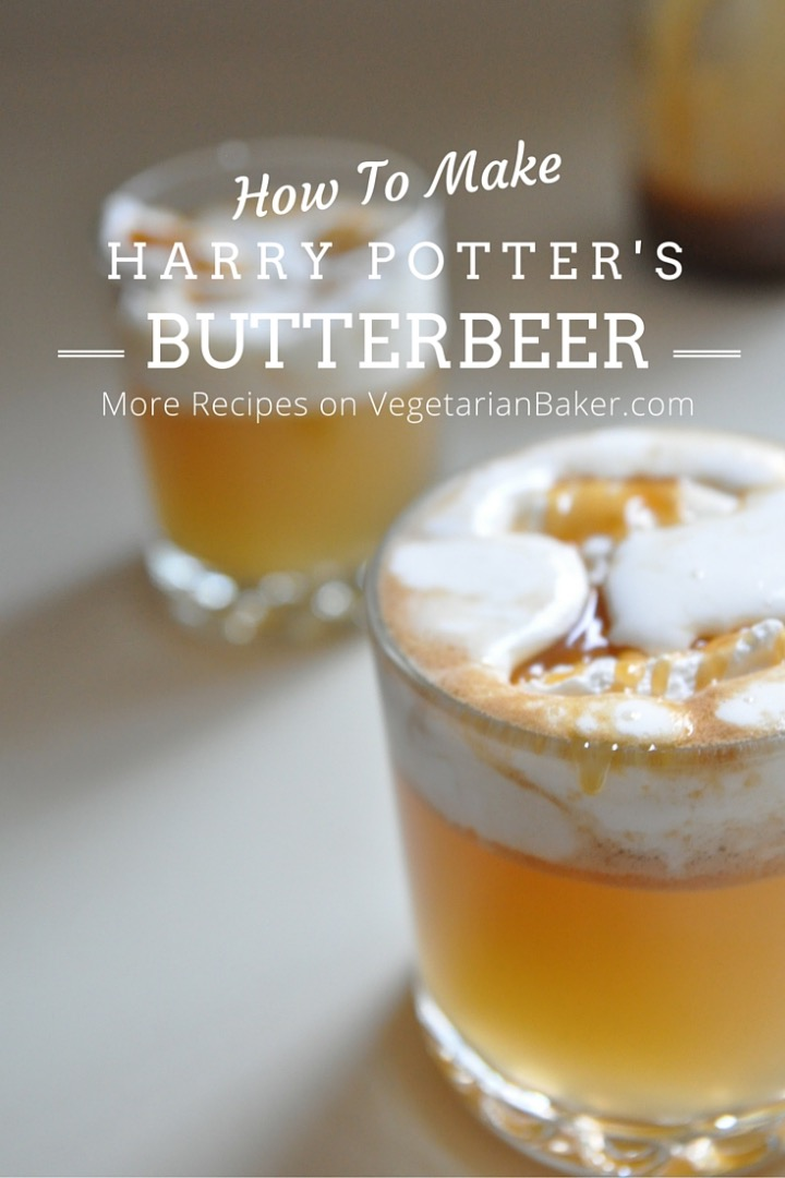 Picture of How to Make Butterbeer | Harry Potter Recipe