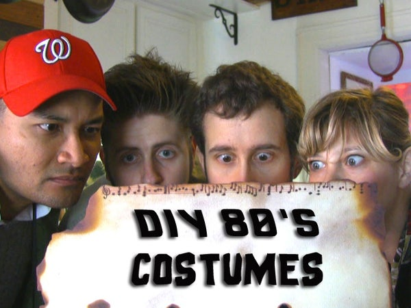 DIY 80's Halloween Costumes