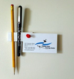 Use Your New Pencil Holder!