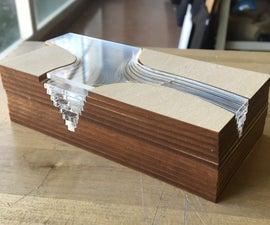 Basswood + Acrylic Material Expiramentation
