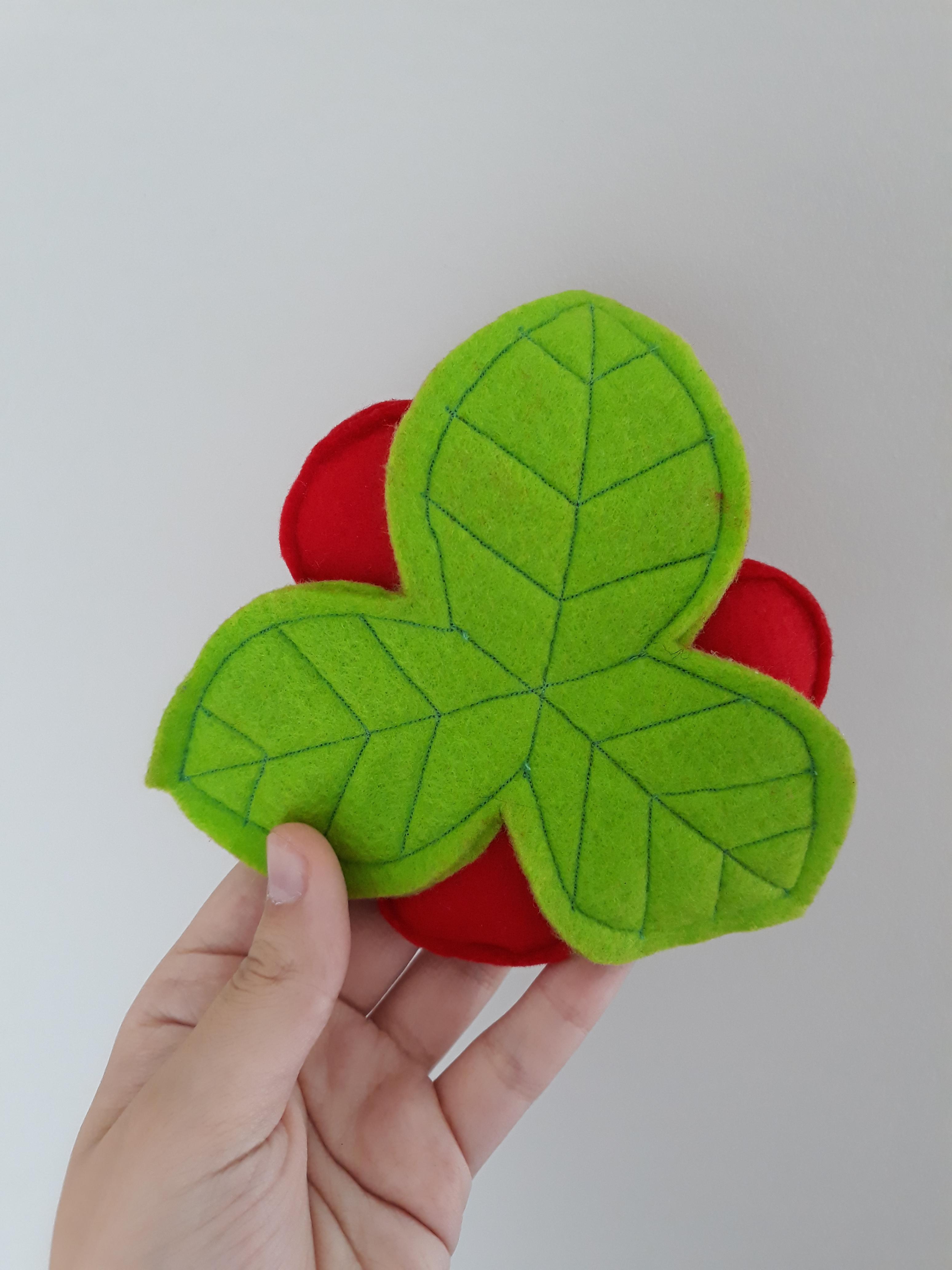 Picture of Felt Flower Pincushion