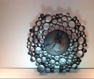 Handmade Industrial Clock