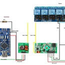 Over 120 Meter Control 8 Channel Relay Module With 433MHz Wireless Transmitter and Receiver