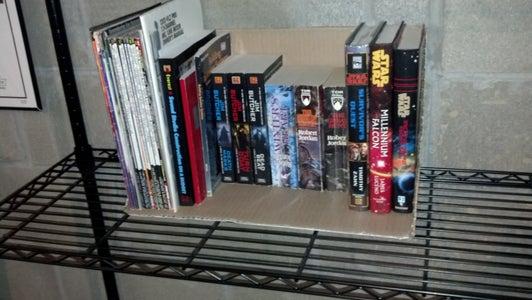 Cardboard Book Box