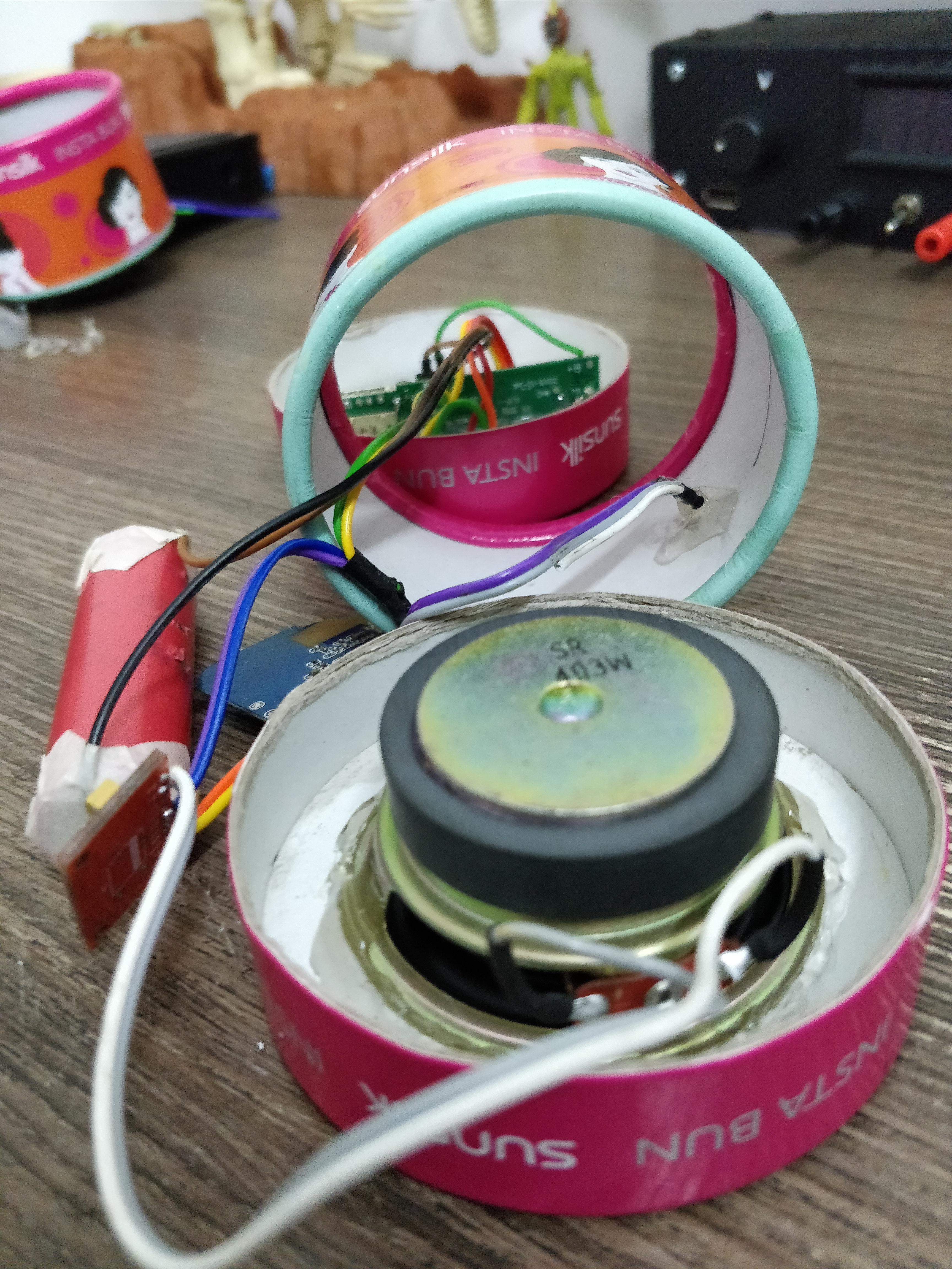 Picture of Soldering Them Together