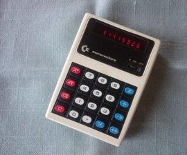 Restoring a Vintage Calculator