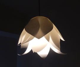 Paper Flower Lamp