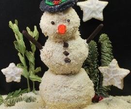 Snowconut Man (Vegan Sugar Cookies)