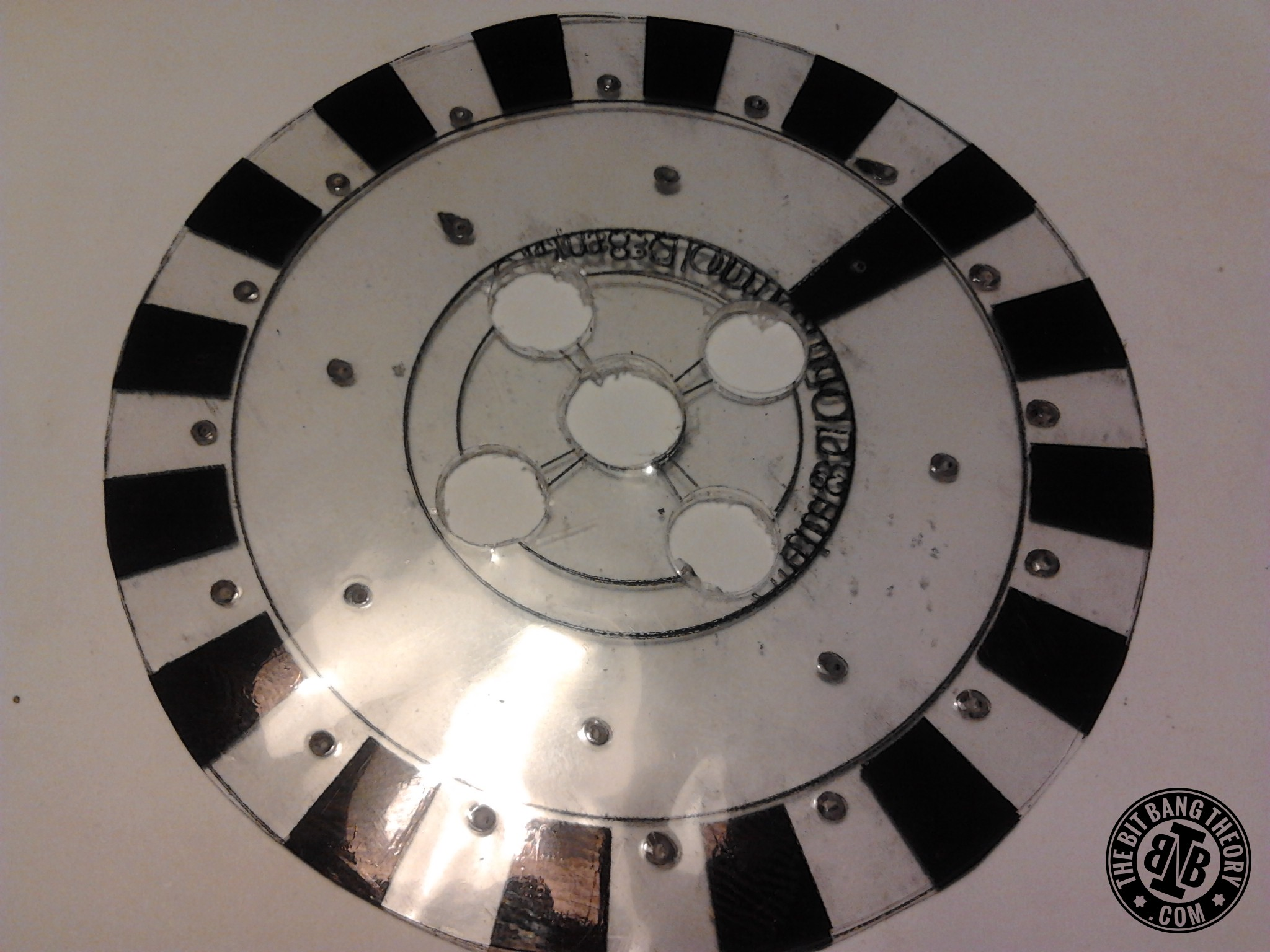 Picture of Join Plastic Adapters With Encoder Wheel