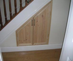 Under Stairs Storage Space
