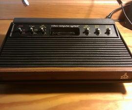 Cleaning an Atari 2600 VCS