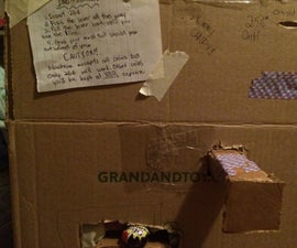 Cardboard Vending Machine