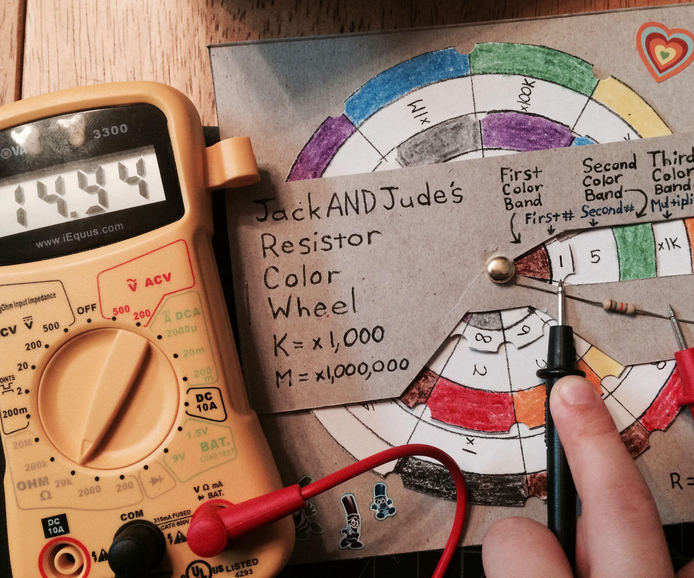Car color code finder - Resistor Color Wheel Tool