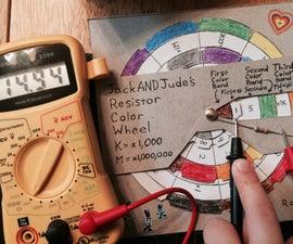 Resistor Color Wheel Tool