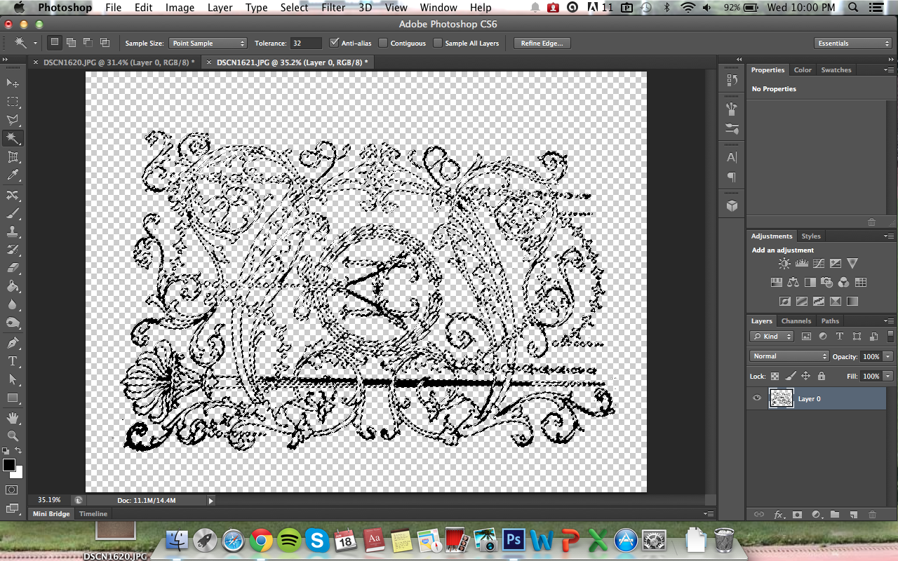 Picture of Embellishment: Photoshop to Isolate Design