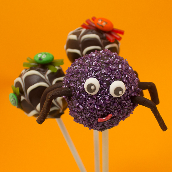 Picture of Dip and Decorate Your Spider Cake Pops