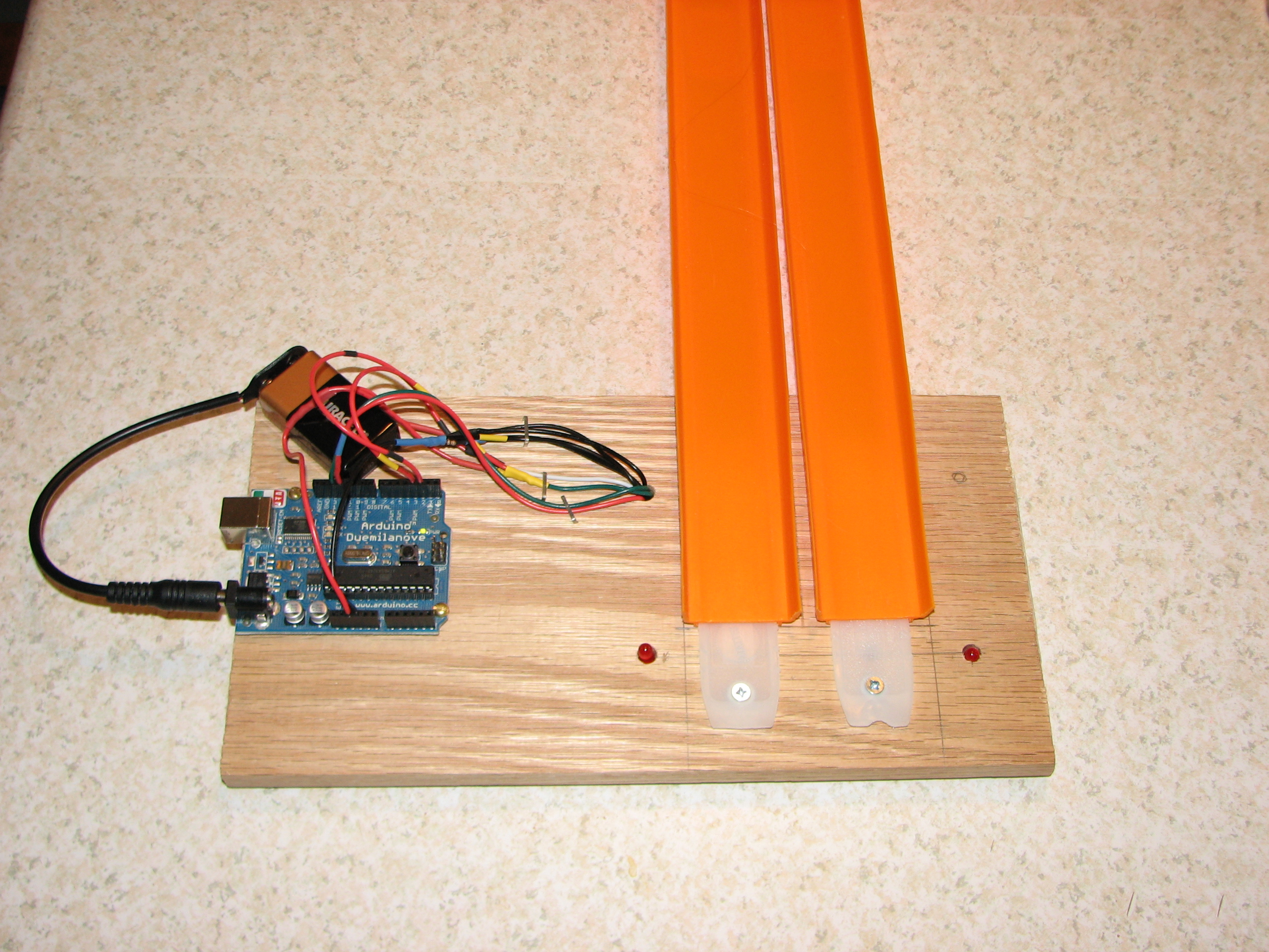 Picture of Arduino Controlled Finish Line