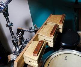 Wooden Percussion Blocks