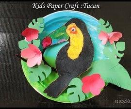 Kids Paper Craft Tucan: Fun Craft for Kids