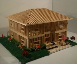 Residential House Scale Model