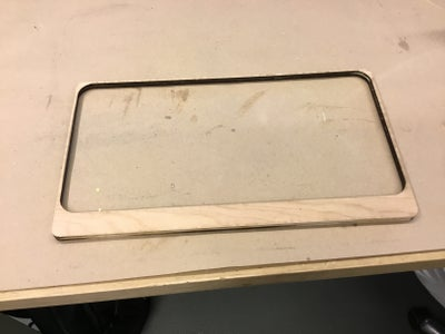 Wooden Frame for LED