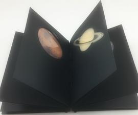 Planet Book With Stir Stick Binding