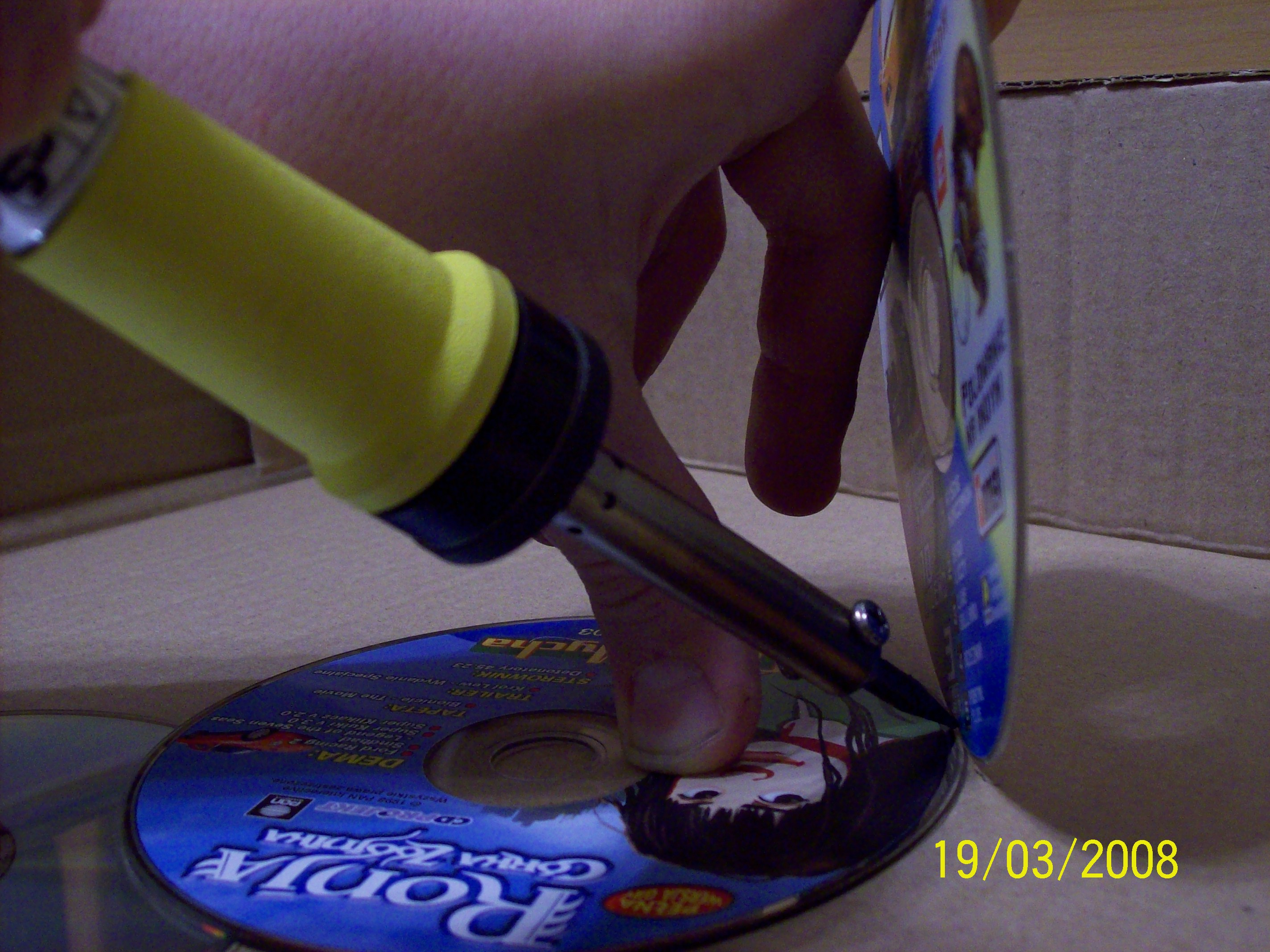Picture of Making the Holder