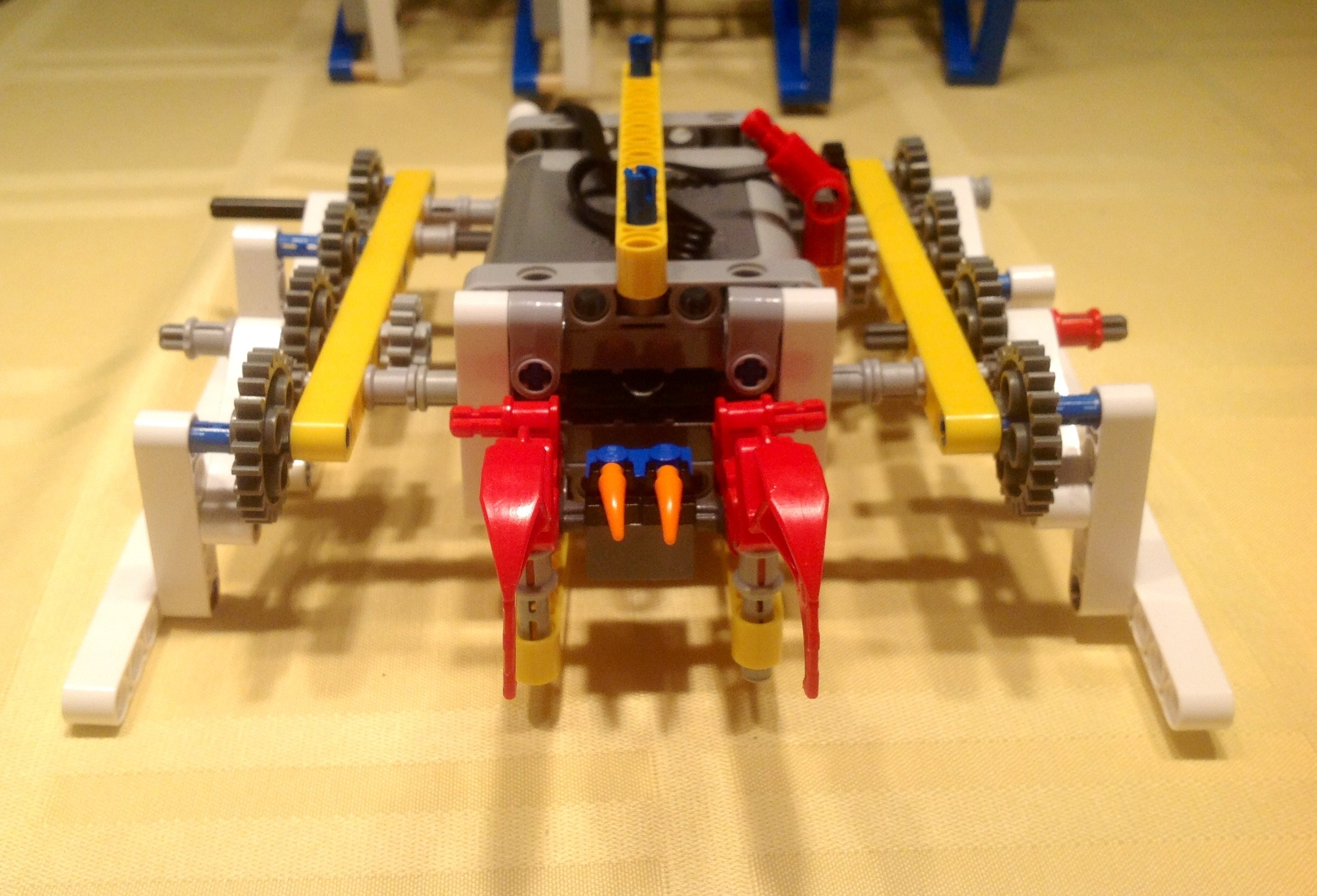 Picture of How to Assemble the Lego Walker