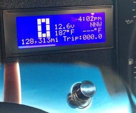 1990 Mustang GT Info Center