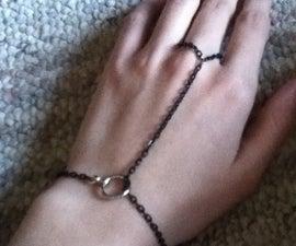 Simple Chain Ring Bracelet (Slave Bracelet)