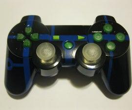 Custom PS3 Controller Paint Job