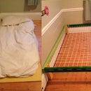 Minimalist Hammock-Style Bed
