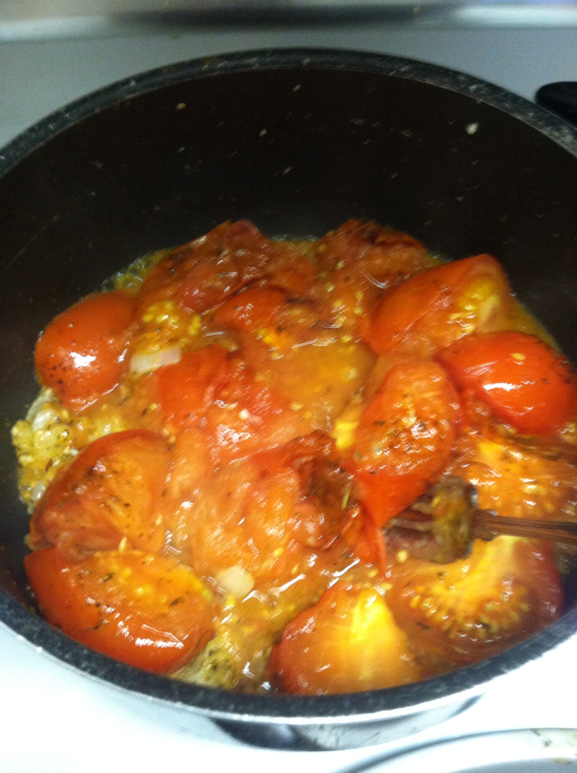 Picture of Add Fire Roasted Tomatoes
