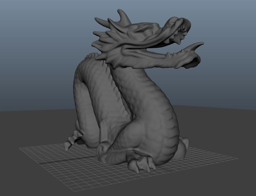 Picture of Setting the Correct Scale and Position of Our Dragon