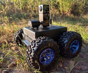 4WD Security Robot