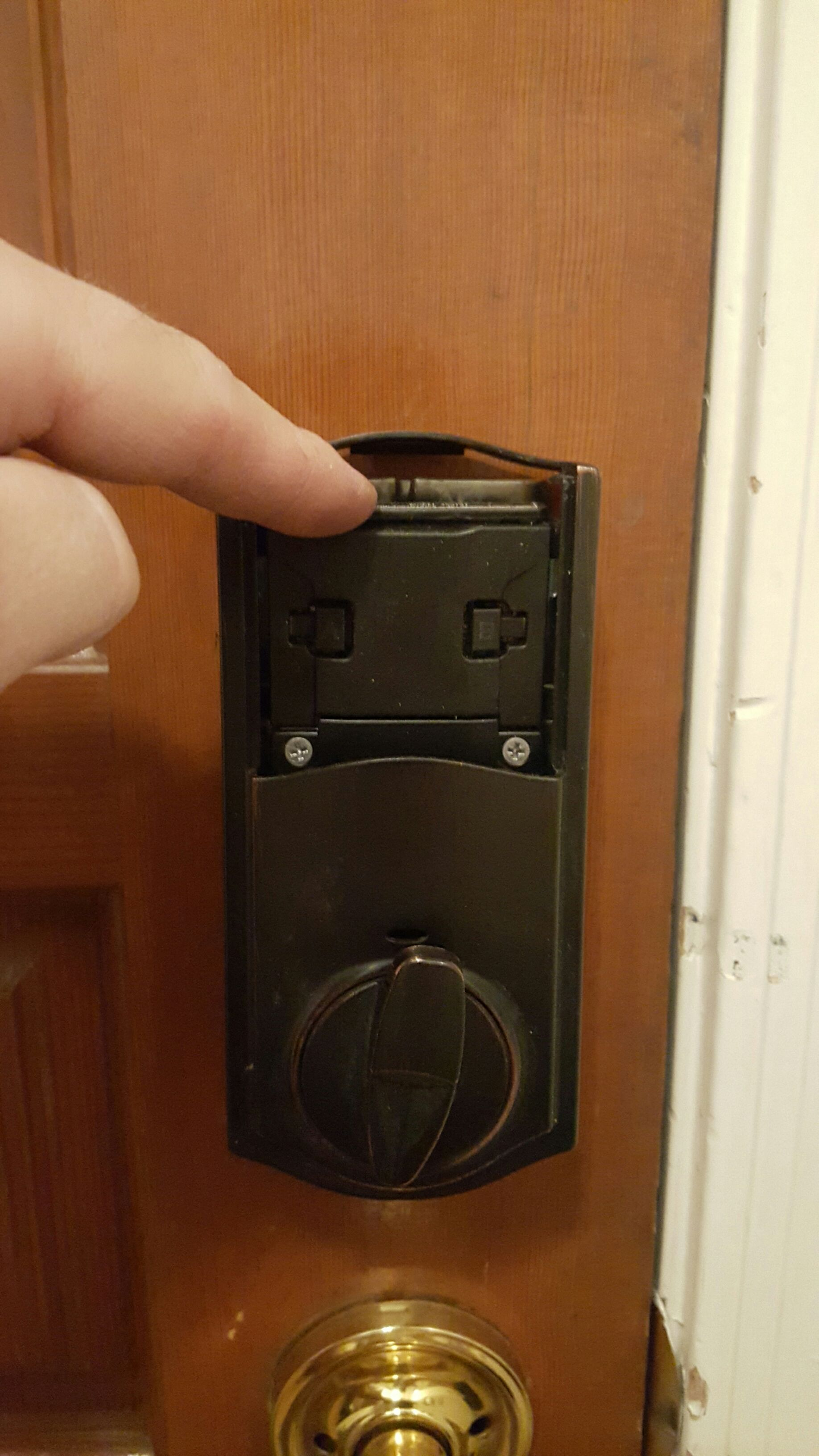 Picture of Find Empty Space Inside the Unit for a Switch.