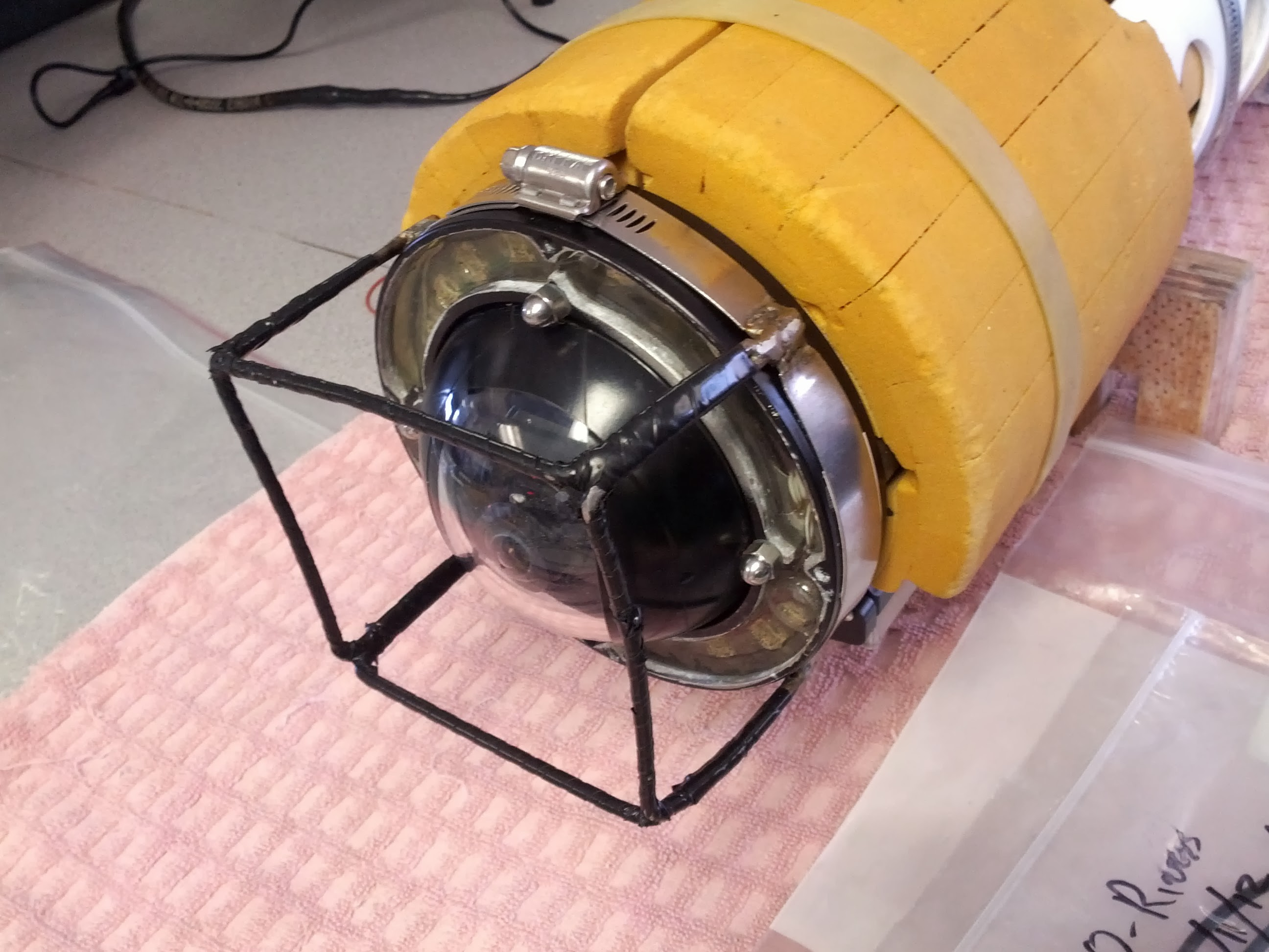Picture of Light Ring on Underwater Robot -- Part 1 (Lathe)