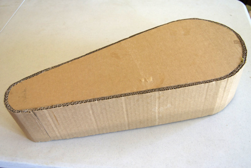 Picture of Making the Cardboard Form