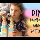 DIY Rainbow Sand Bottle Gift