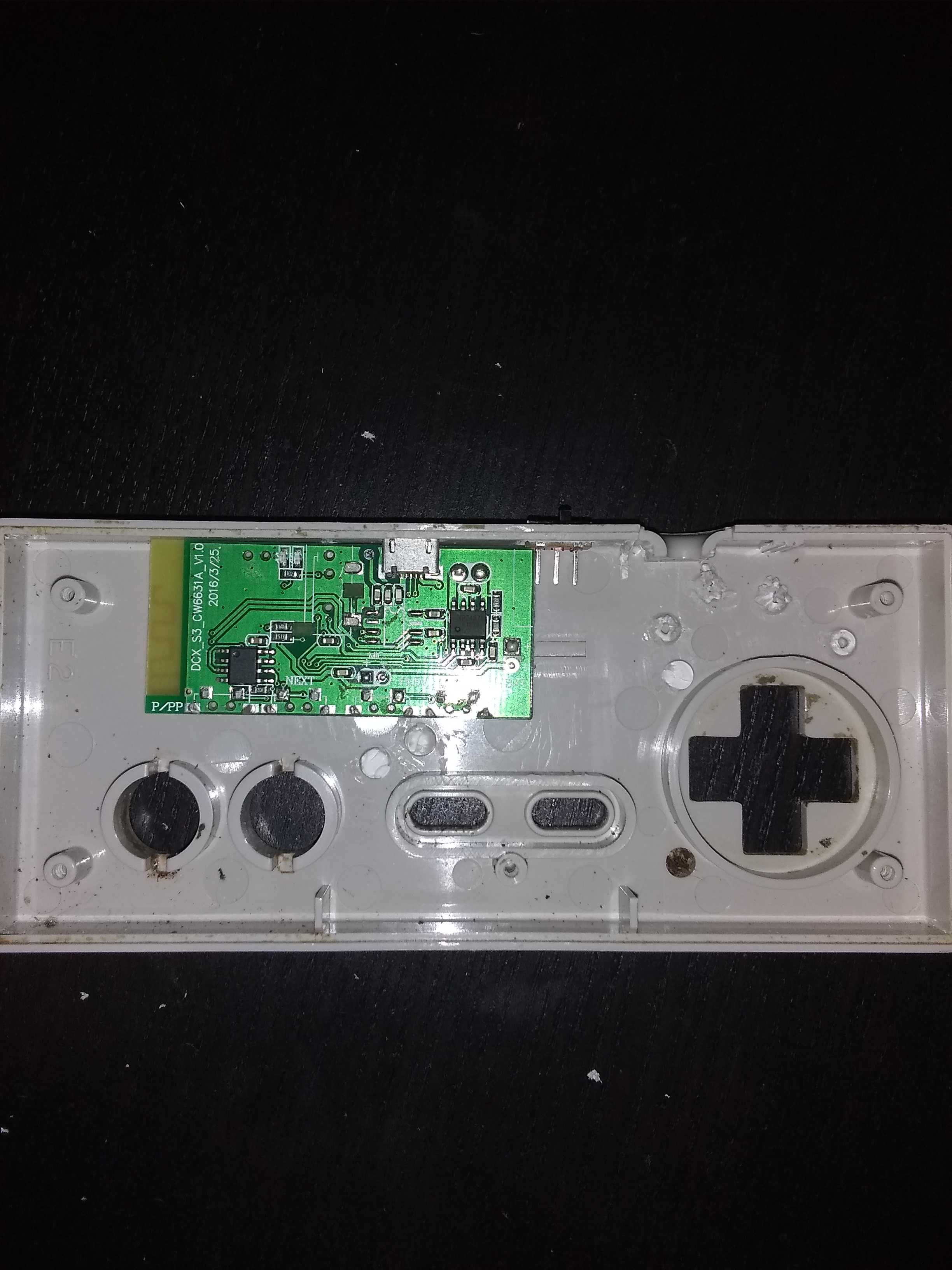 Picture of Preparing Holes for the Switch and Charger