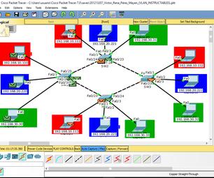 Configure VLAN in Cisco Packet Tracer